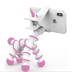 Brand new Pink unicorn phone holder